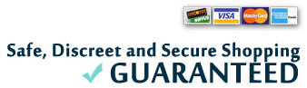 safe, discreet and secure shopping banner